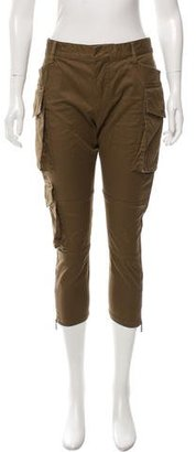 Dsquared2 Cropped Cargo Pants $225 thestylecure.com