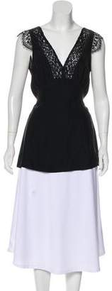 Jenni Kayne Silk Short Sleeve Top w/ Tags