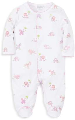 Kissy Kissy Baby Girl's Jungle Jibes Printed Footie