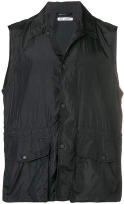 Our Legacy press stud cargo vest