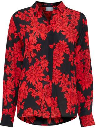 B.young B. Young Helka Floral-Print Button-Down Shirt