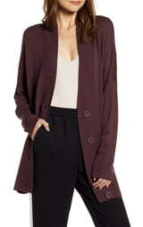 Chelsea28 Oversize Button Front Cardigan