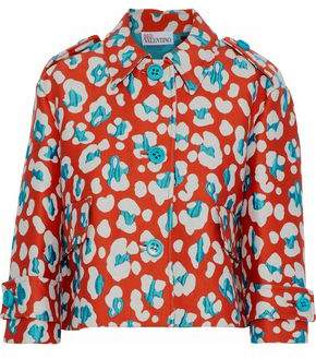 RED Valentino Cotton-Blend Jacquard Jacket