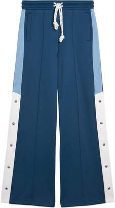 Burberry Panelled Wide-leg Drawcord Trousers