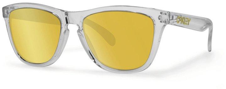 Oakley Neon Yellow Frogskin Sunglasses  oakley frogskins style australia