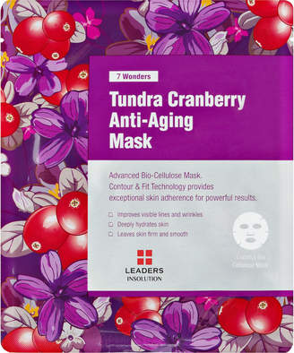 Leaders 7 Wonders Tundra Cranberry Anti-Aging Sheet Mask $6 thestylecure.com