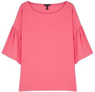 Eileen Fisher Pink Silk Crepe Top