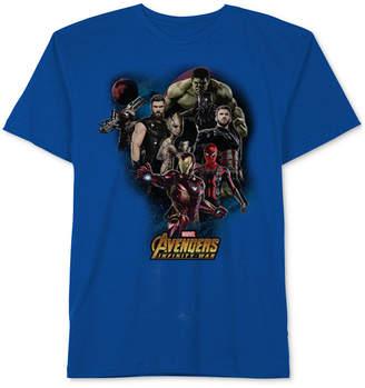 Marvel Marvel's Avengers Graphic-Print Cotton T-Shirt, Big Boys