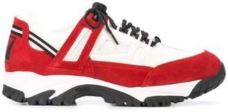 Maison Margiela low top colour block sneakers