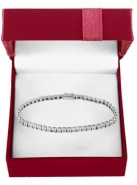 Effy Super Buy Diamond and 14K White Gold Tennis Bracelet