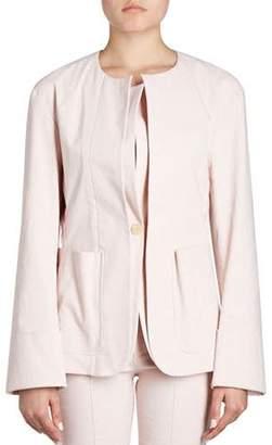 Isabel Marant Leona Double-Lapel One-Button Blazer