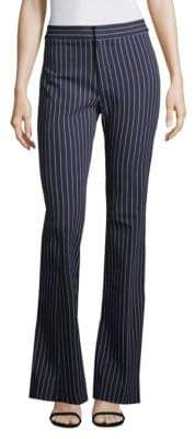 Derek Lam Pinstriped Flared Pants