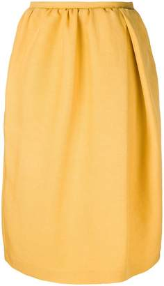 Rochas gathered waist skirt