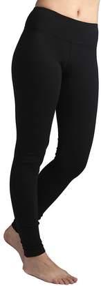 Hard Tail Flat Waist Ankle Yoga Leggings, S
