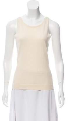 Ralph Lauren Black Label Sleeveless Scoop Neck Sweater