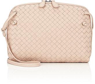 Bottega Veneta Women's Intrecciato Messenger Bag $1,550 thestylecure.com