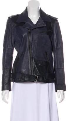Each X Other Leather Biker Jacket Leather Biker Jacket