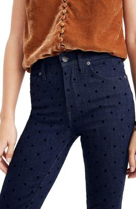 Madewell 9-Inch High Waist Ankle Skinny Jeans