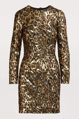 Dolce & Gabbana Short sequined dress