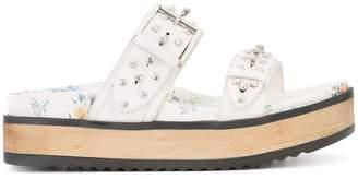 Alexander McQueen hobnail sandals