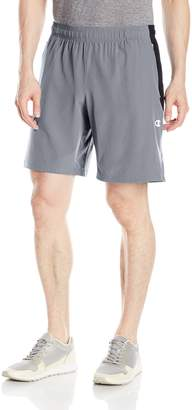 Champion Men's 365 Train Short, Concrete/Shadow Grey