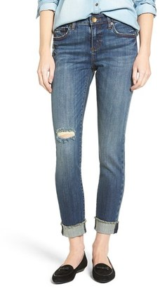Women's Kut From The Kloth Amy Raw Hem Jeans $89 thestylecure.com