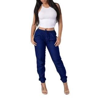Muranba Pants Womens High Waist Elastic Jeans Casual Denim Pants Muranba (, S)