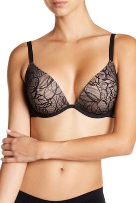 5a3ab18a3693a DKNY Signature Plunge Push-Up Bra