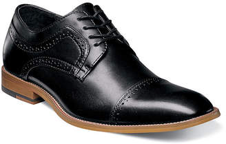Stacy Adams Dickinson Mens Leather Cap Toe Oxfords