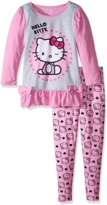 Hello Kitty Big Girls' 2Pc Sleepwear Legging Set
