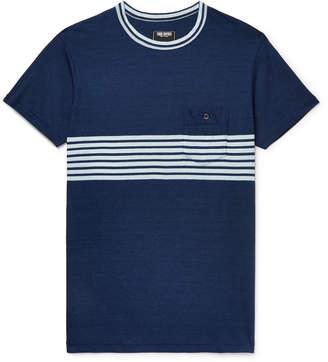 Todd Snyder Indigo-Dyed Striped Cotton-Jersey T-Shirt