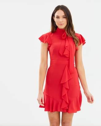 Karen Millen Ruffle Blouson Dress