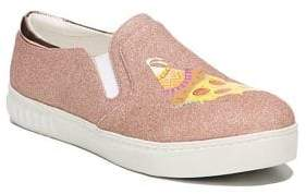 Sam Edelman Charlie Pizza Party Fabric Sneakers