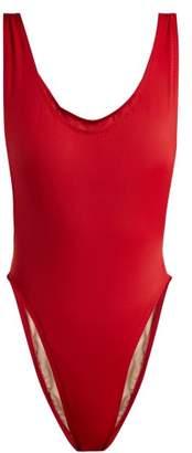 Norma Kamali - Marissa Swimsuit - Womens - Red