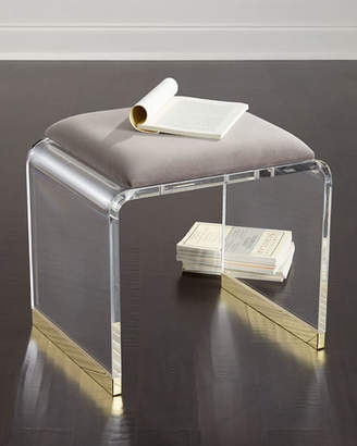 Dahlia Interlude Home Acrylic Stool