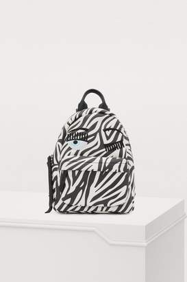 Chiara Ferragni Flirting zebra backpack