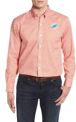 Cutter & Buck Miami Dolphins - League Regular Fit Sport Shirt