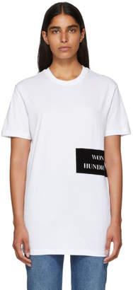 Won Hundred White Troy Organic T-Shirt
