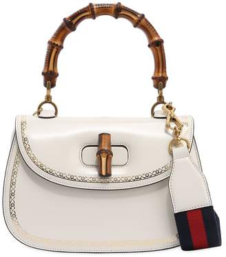 Gucci Bamboo & Leather Top Handle Bag