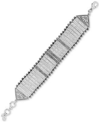 Lucky Brand Silver-Tone Link Bracelet