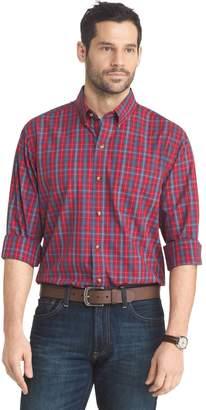 Arrow Big & Tall Regular-Fit Plaid Button-Down Shirt