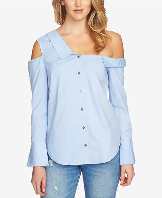 1 STATE 1.STATE Off-The-Shoulder Cutout Shirt