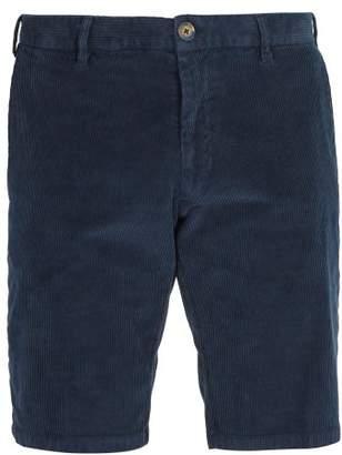 J.w.brine J.W. Brine J.w. Brine - Free Donnie Stretch Corduroy Shorts - Mens - Navy