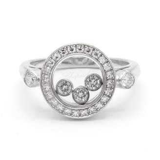 Chopard Happy Diamonds Silver White gold Ring