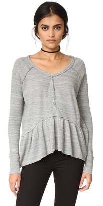 Free People Coastline Tee $68 thestylecure.com