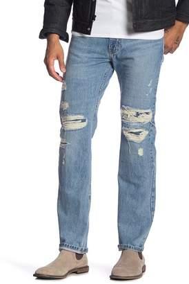 """Levi's 513 Pectus Slim Straight Fit Jeans - 30-34\"""" Inseam"""