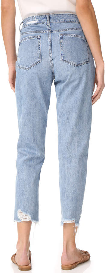 DL1961 Goldie High Rise Tapered Jeans 2