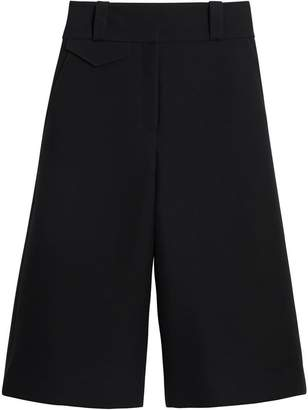 Burberry Wool Silk Wide-leg Culottes