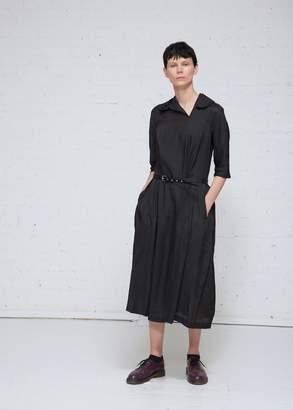 Comme des Garcons Belted A-line Dress