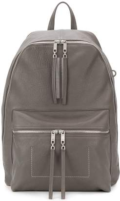 Rick Owens stripe detail backpack
